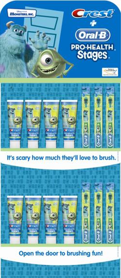 Oral B monsters