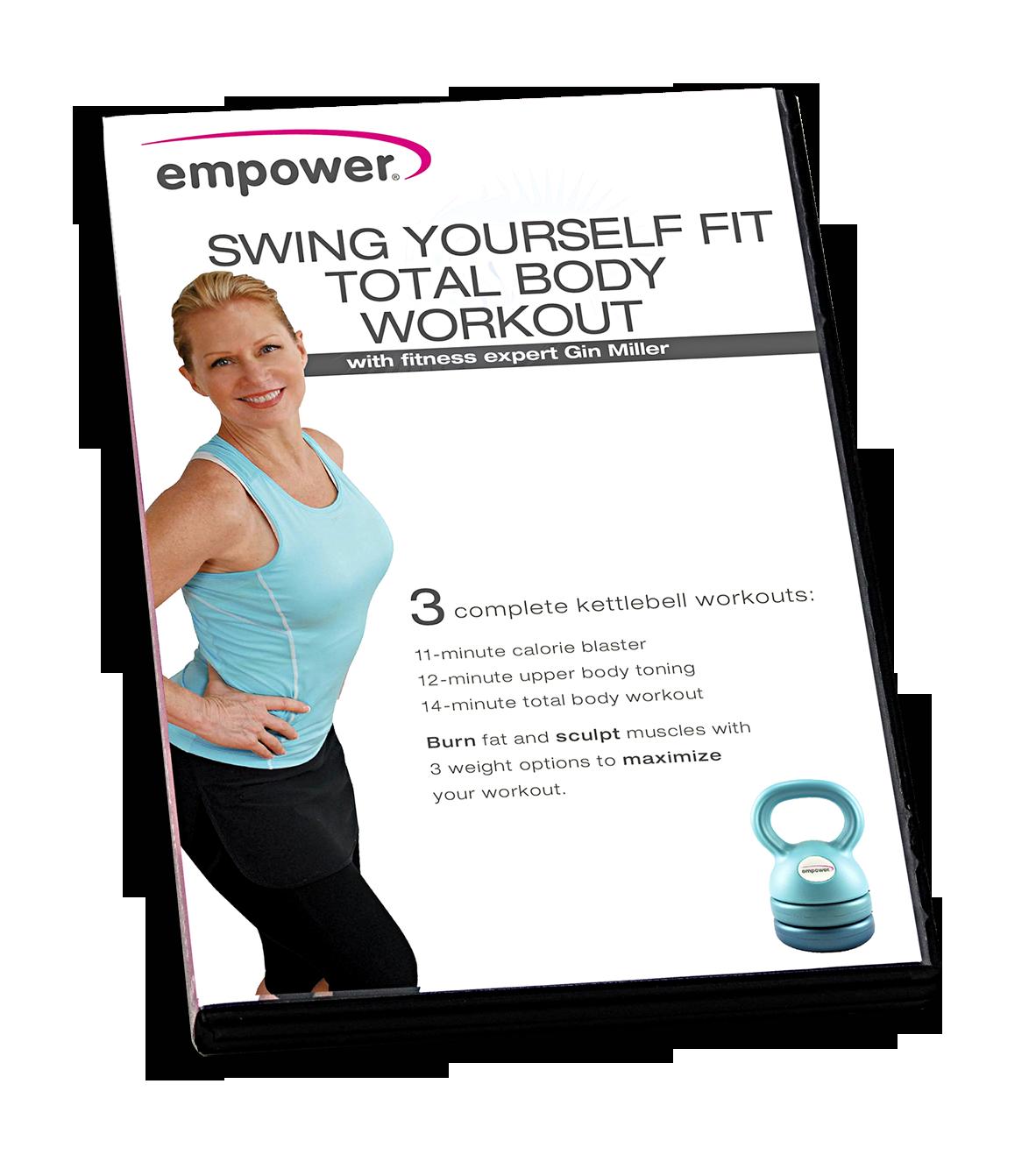 Kettlebell Workout Dvds Kettlebell Fitness Training Dvd: Empower 3-in-1 Adjustable