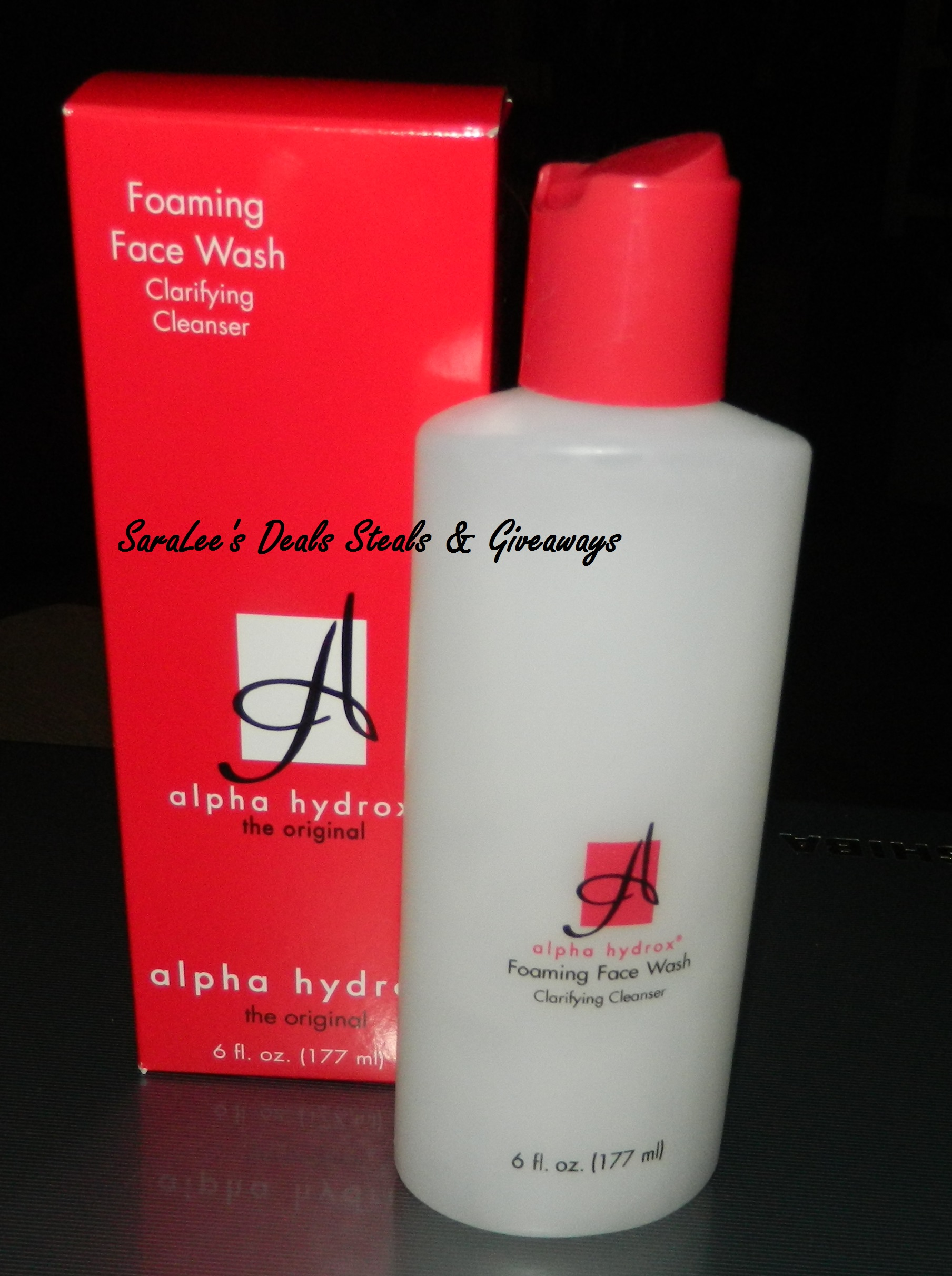Can recommend alpha hydroxy facial wash can