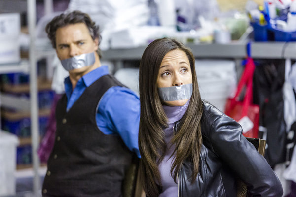 Dylan Neal as Henry, Crystal Lowe as Gretchen
