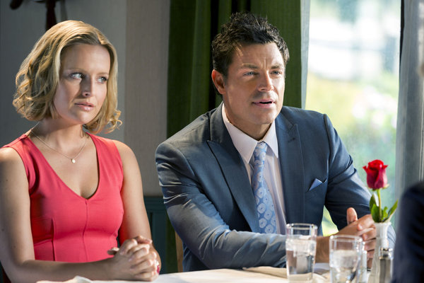 Sarah Smyth as Justine & Brennan Elliott as Warren