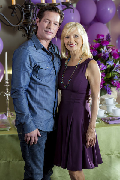 Sebastian Spence (Cliff) & Teryl Rothery (Grace)