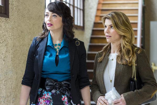 Sarah Strange as Dani, Lori Loughlin as Jennifer