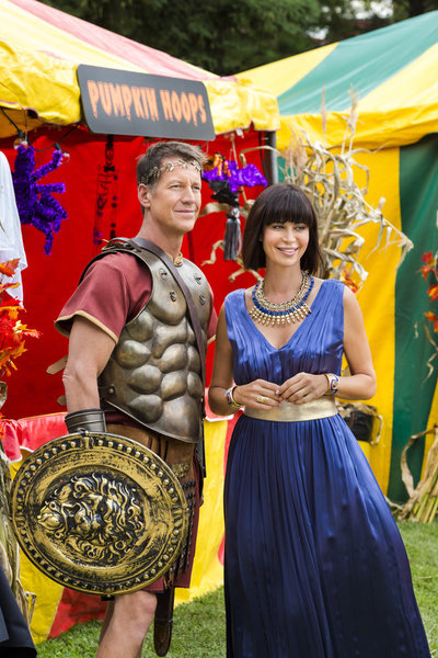 James Denton, Catherine Bell Credit: Copyright 2015 Crown Media United States LLC/Photographer: Brooke Palmer