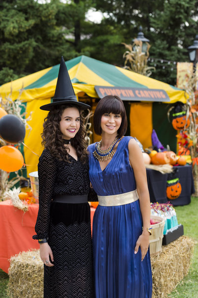 Bailee Madison, Catherine Bell Credit: Copyright 2015 Crown Media United States LLC/Photographer: Brooke Palmer