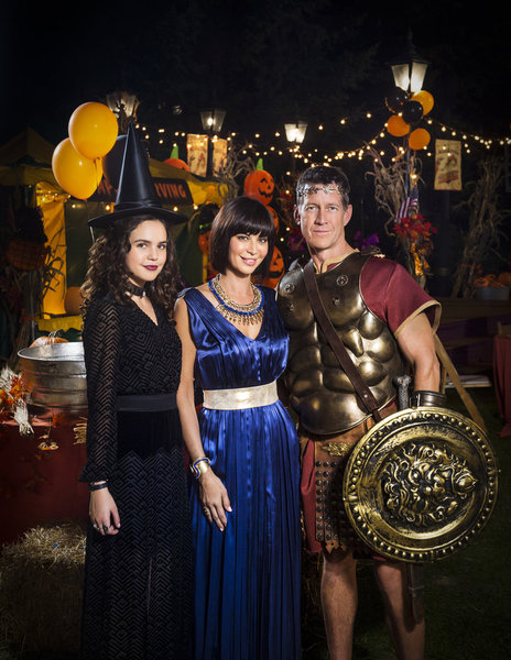 Bailee Madison, Catherine Bell, James Denton Credit: Copyright 2015 Crown Media United States LLC/Photographer: Brooke Palmer