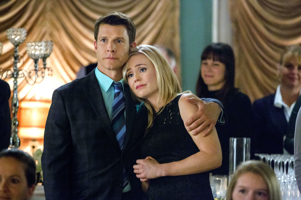 Eric Mabius, Kristin Booth Credit: Copyright 2015 Crown Media United States LLC/Photographer: Bettina Strauss