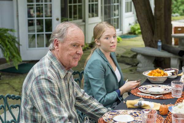 Peter McNeil as George, Hannah Endicott-Ellis as Lori Credit: Copyright 2015 Crown Media United States LLC/Photographer: Brooke Palmer
