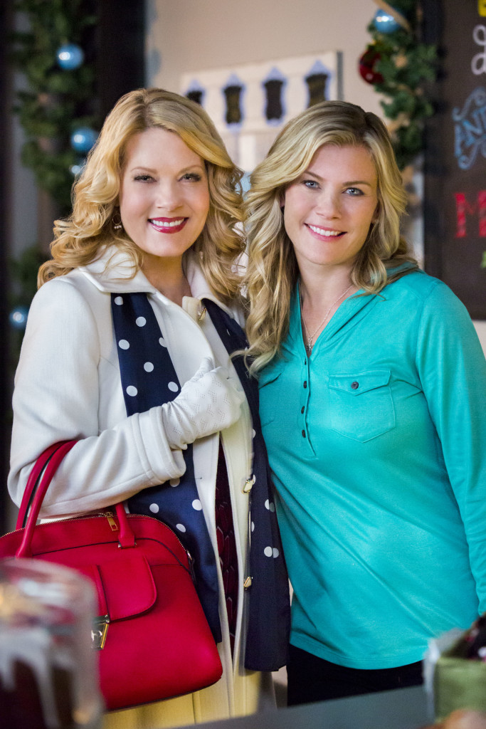 Photo (Left to Right): Barbara Niven, Alison Sweeney Credit: Copyright 2015 Crown Media United States LLC/Photographer: Bettina Strauss
