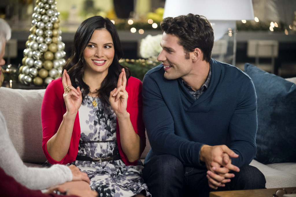 An aspiring artist is hired as a Christmas gift buyer for a high- powered business man with whom she falls in love. Photo: Katrina Law, Aaron O'Connell Credit: Copyright 2015 Crown Media United States, LLC/Photographer: Fred Hayes