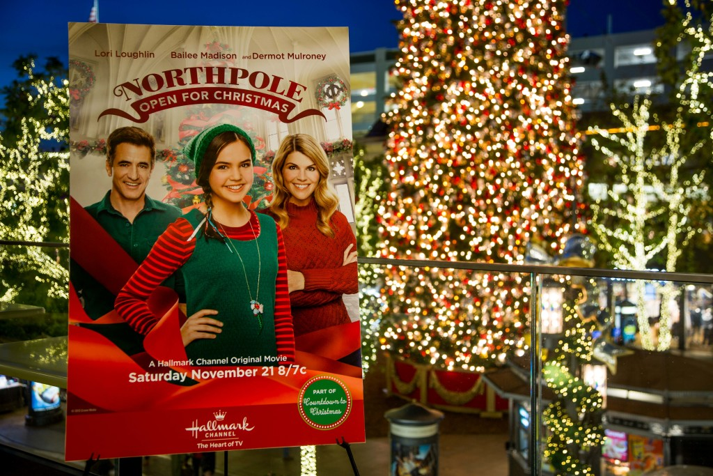 "Hallmark Channel's screening for ""Northpole: Open For Christmas,"" premiering Saturday, November 21 on Hallmark Channel, part of the network's widely popular Countdown to Christmas programming event. This year the network rolls out 17 original movie premieres in November and December. Photo: Credit: Copyright 2015 Crown Media United States, LLC/Photographer: jeremy lee/Alexx Henry Studios, LLC"