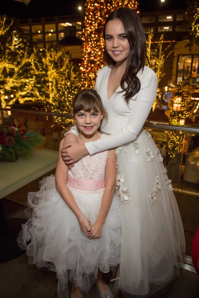"Christmas,"" premiering Saturday, November 21 on Hallmark Channel, part of the network's widely popular Countdown to Christmas programming event. This year the network rolls out 17 original movie premieres in November and December. Photo: Bella Neal, Bailee Madison Credit: Copyright 2015 Crown Media United States, LLC/Photographer: jeremy lee/Alexx Henry Studios, LLC"