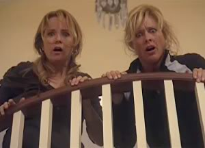 Lea Thompson as Sophie & Rachel Hayward as Marcia