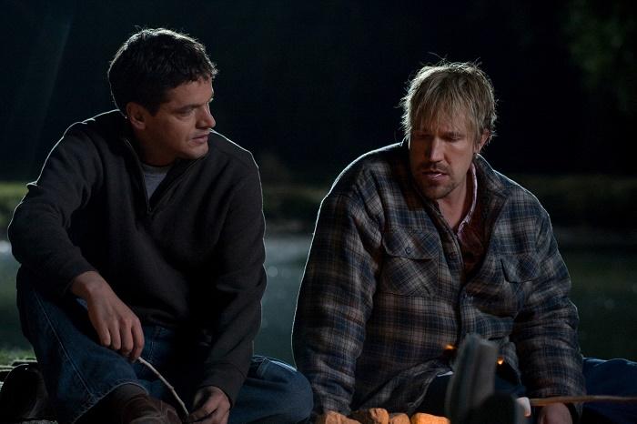 Kevin Downes as John & David A.R. White as Wayne