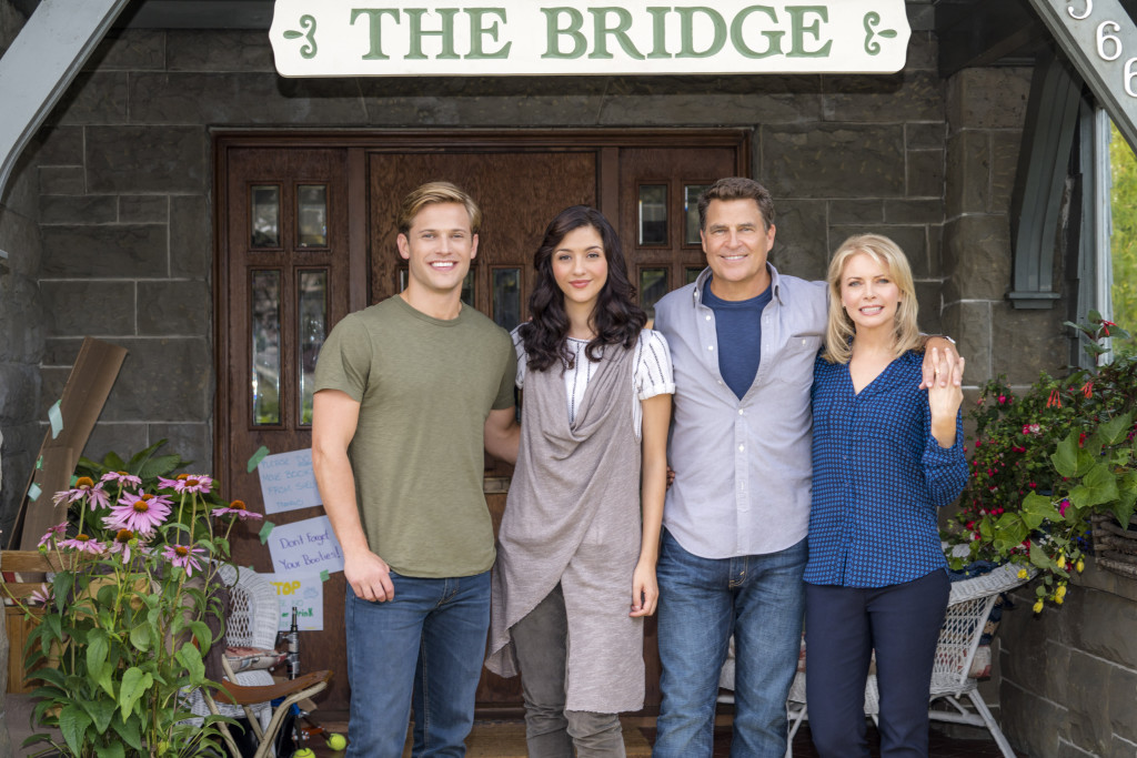 Wyatt Nash, Katie Findlay, Ted McGinley, Faith Ford Credit: Copyright 2015 Crown Media United States, LLC/Photographer: Duane Prentice