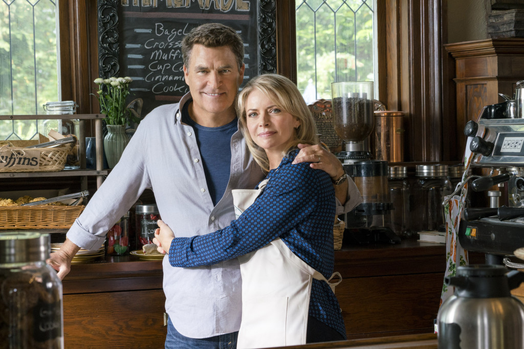 Ted McGinley, Faith Ford Credit: Copyright 2015 Crown Media United States, LLC/Photographer: Duane Prentice