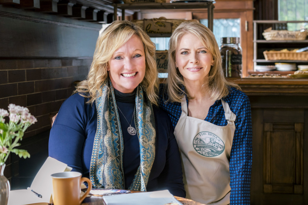 Karen Kingsbury, Faith Ford Credit: Copyright 2015 Crown Media United States, LLC/Photographer: Duane Prentice