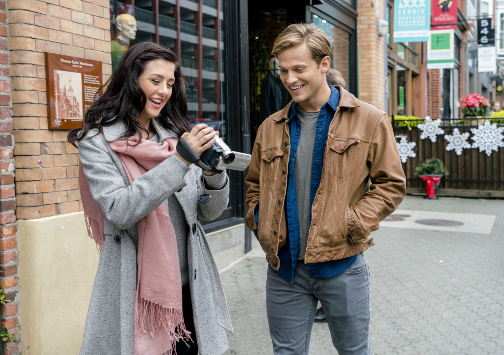Katie Findlay, Wyatt Nash Credit: Copyright 2015 Crown Media United States, LLC/Photographer: Duane Prentice