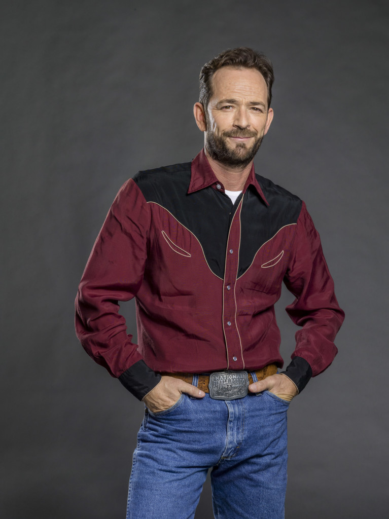 Luke Perry Credit: Copyright 2015 Crown Media United States, LLC/Photographer: Bettina Strauss