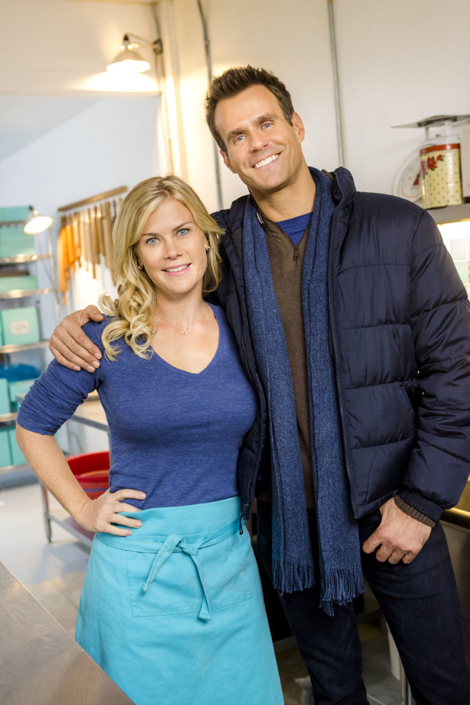 Alison Sweeney (Hannah), Cameron Mathison (Mike) Credit: Copyright 2015 Crown Media United States LLC/Photographer: Bettina Strauss