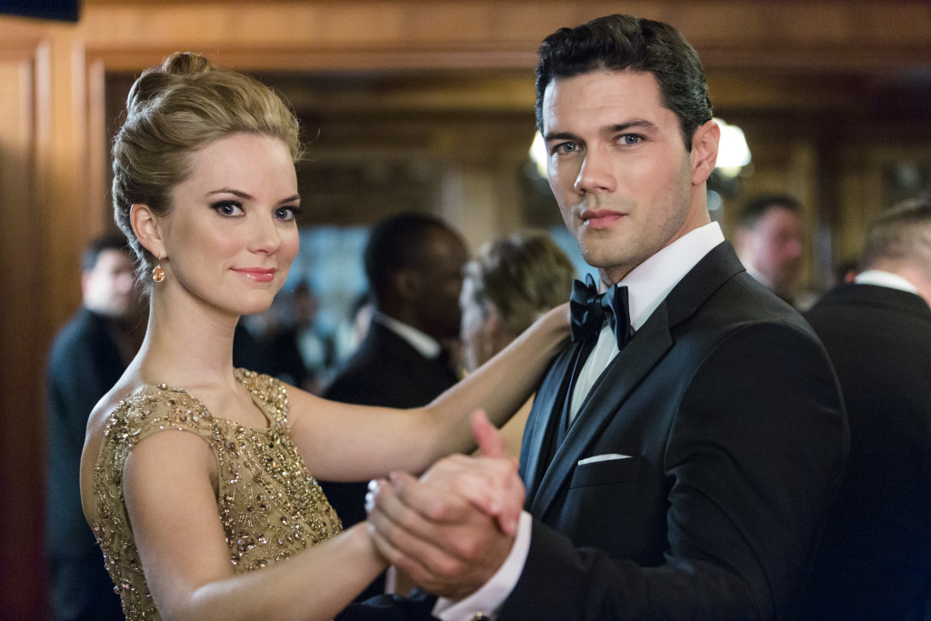 Cindy Busby (Elizabeth Scott), Ryan Paevey (Conovan Darcy) Credit: Copyright 2015 Crown Media United States, LLC/Photographer: Bettina Strauss