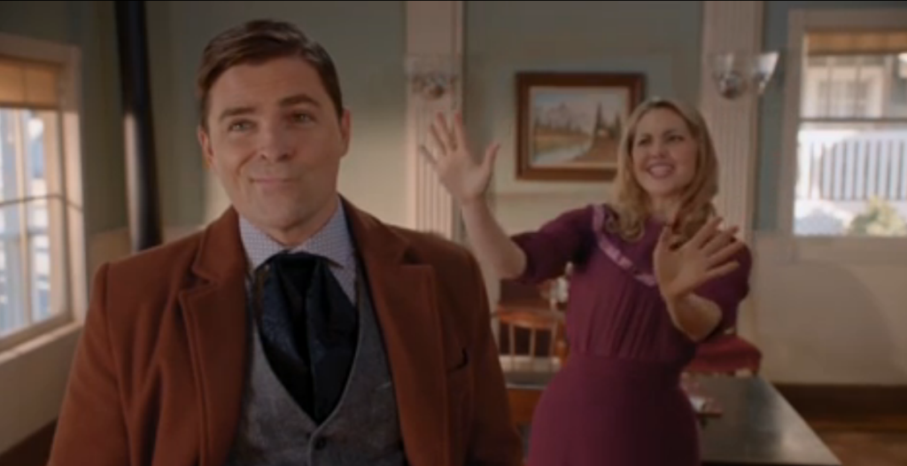 Kavan Smith (Lee), Pascale Hutton (Rosemary)