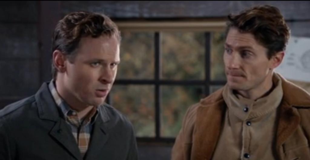 Ben Rosenbaum (Hickam), Matthew MacCaull (Wade)