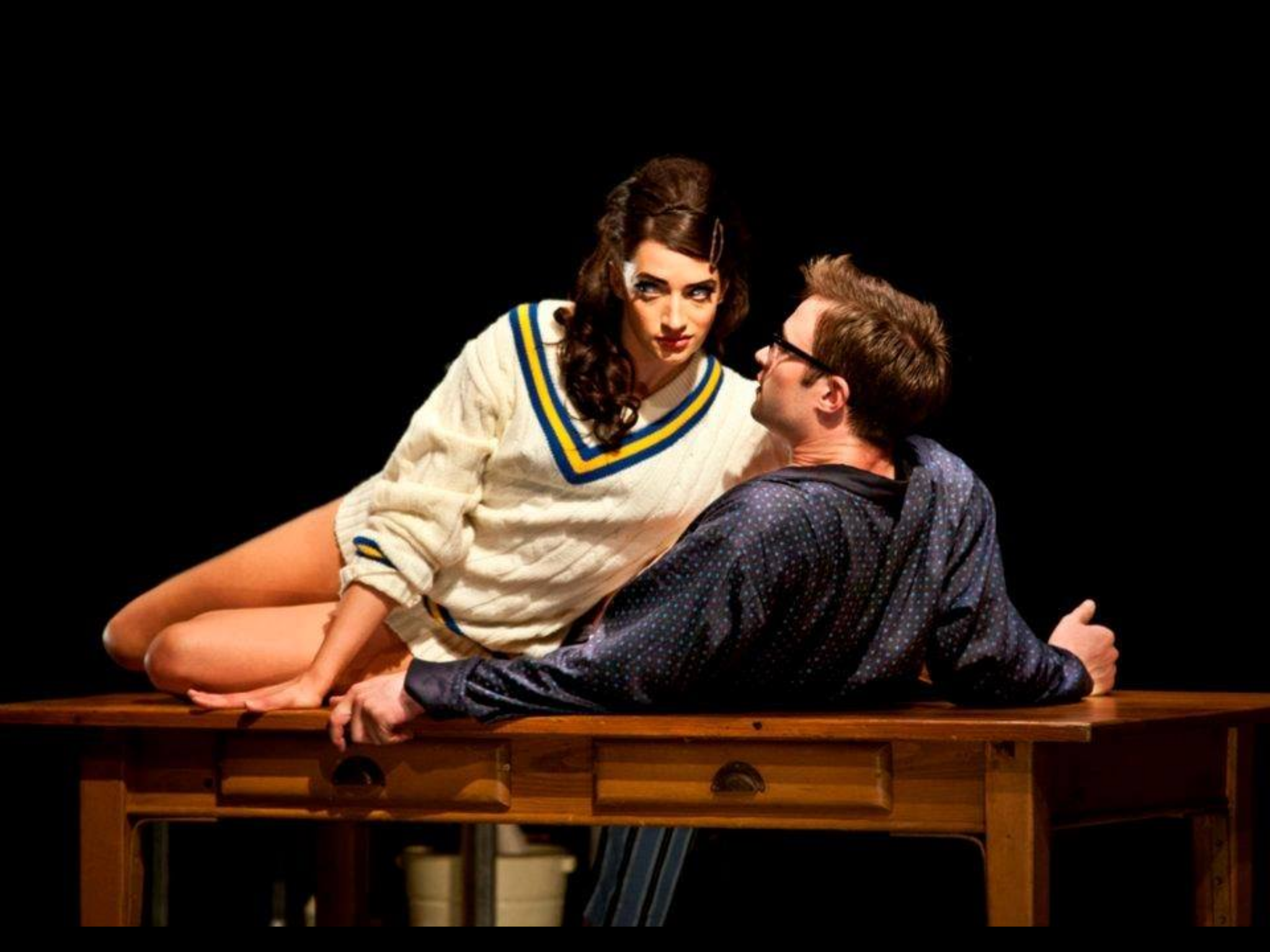As SHEILA in Matthew Bournes PLAY WITHOUT WORDS