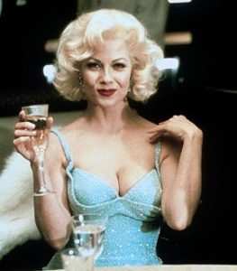Barbara as Marilyn Monroe