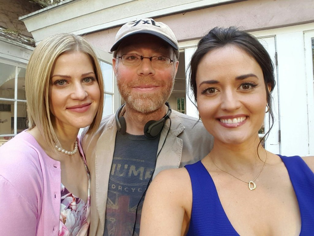 Tammy Gillis, Gary Yates (Director) and Danica McKellar.