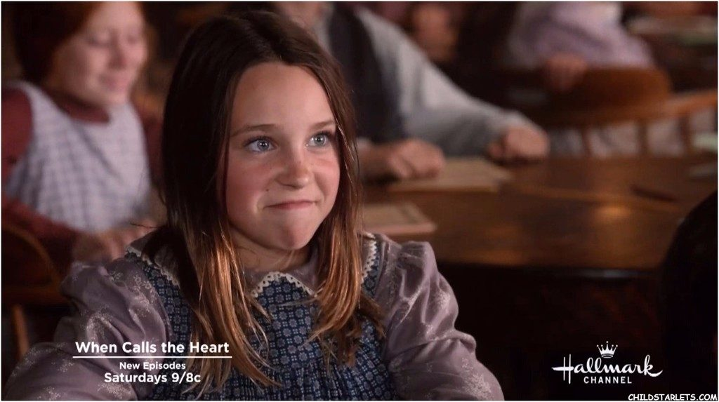 Another of Katelyn Mager's many characters was that as fan-favourite Rachel Stonelake in the Hallmark Television Series 'When Calls the Heart' (2014-2015).