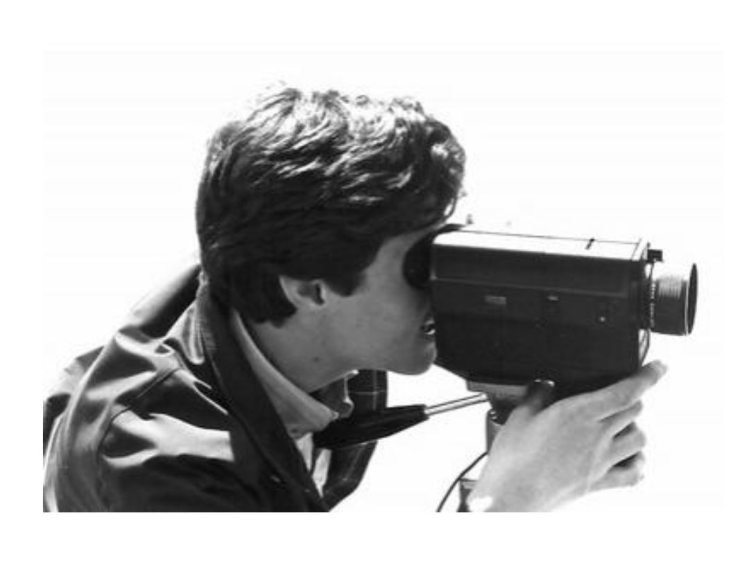 Directing a super-8 movie in high school