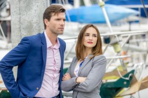 Lucas Bryant, Rachael Leigh Cook Credit: Copyright 2016 Crown Media United States LLC/Photographer: Ryan Plummer
