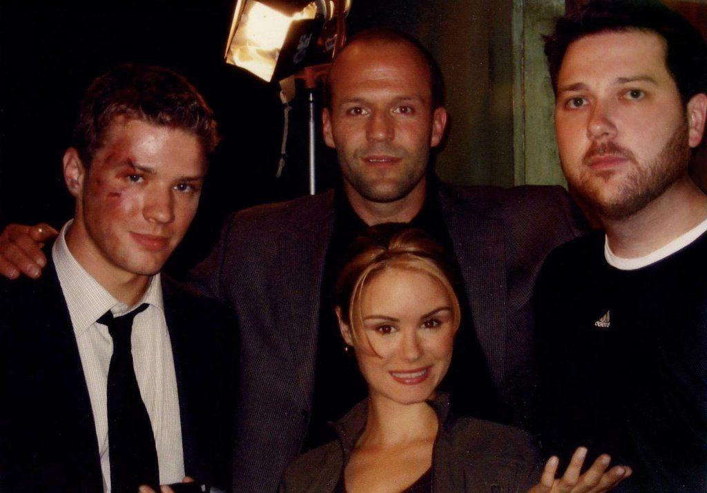 Ryan Phillippe, Jason Statham, Tony Giglio, and Keegan Connor Tracy in Chaos (2005)