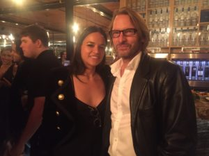 AdrianHough with MichelleRodriguez, Premiere of '(re)Assignment', TIFF Party