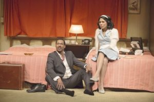 The Mountaintop: Crystal Balint & co-star Dion Johnston on stage in Vancouver