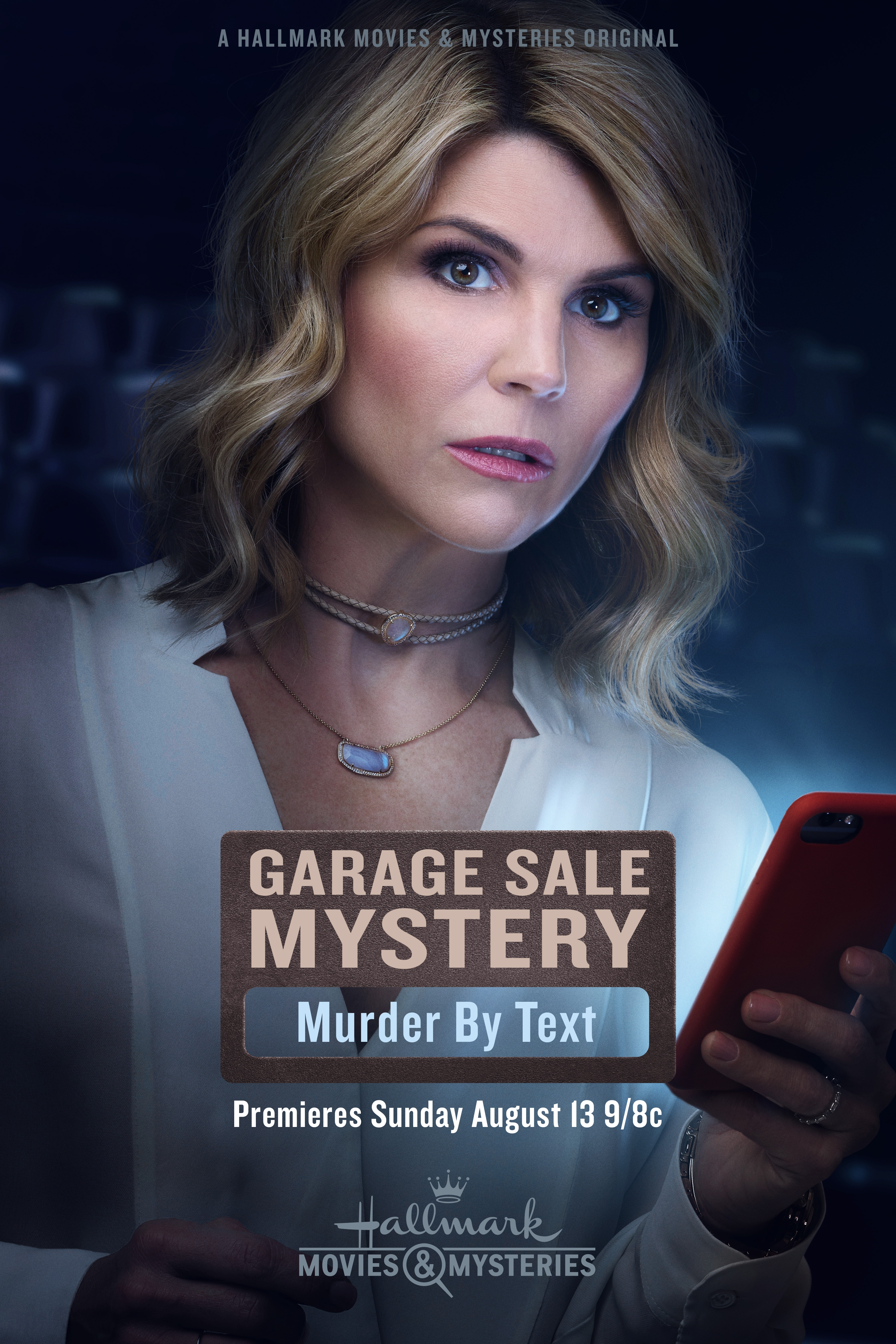 my devotional thoughts garage sale mystery murder by text hallmark movies mysteries review. Black Bedroom Furniture Sets. Home Design Ideas