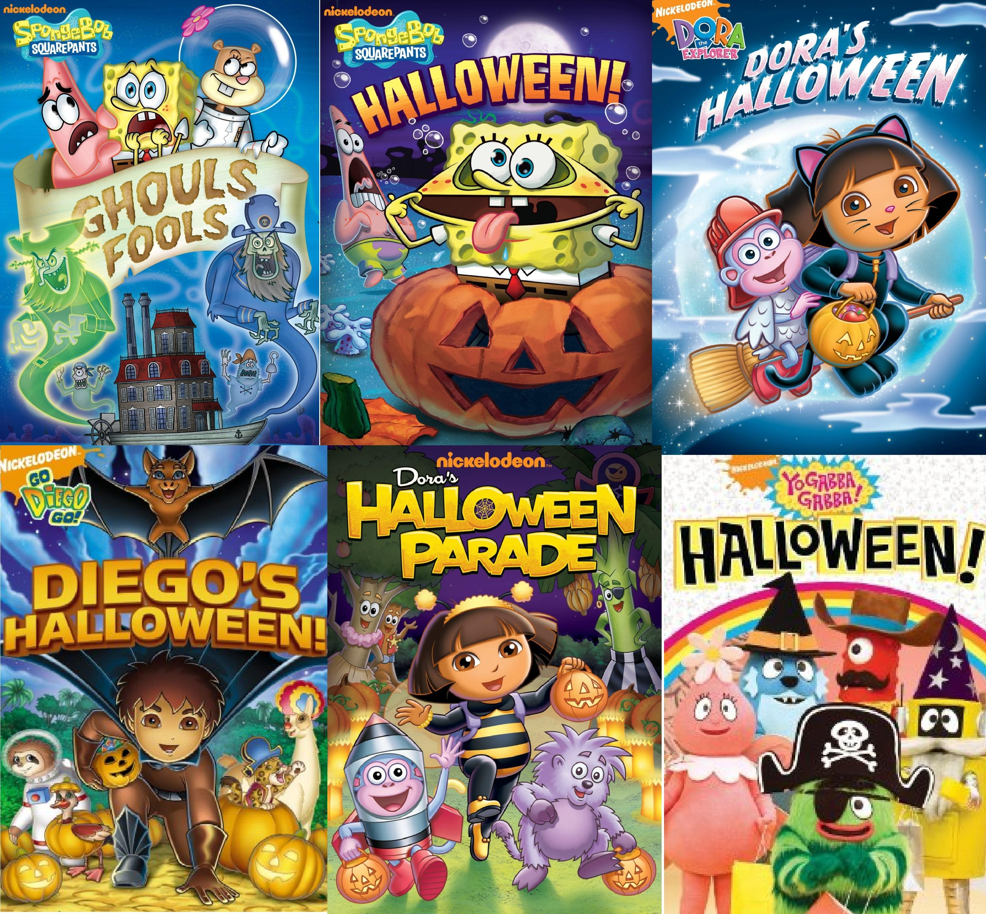 My Devotional Thoughts Nickelodeon Halloween Themed Dvd Roundup Spongebob